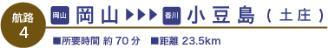 岡山⇔小豆島(土庄)